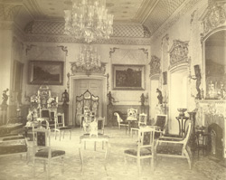 Hamid Manzil - Fort [Rampur]. Drawing Room